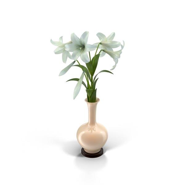Osterlilien in Vase
