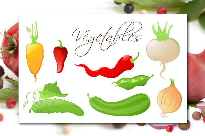 Thumbnail for Gemüse-Set