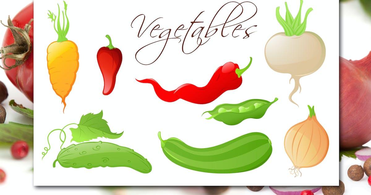 Download Set of Vegetables by Artness