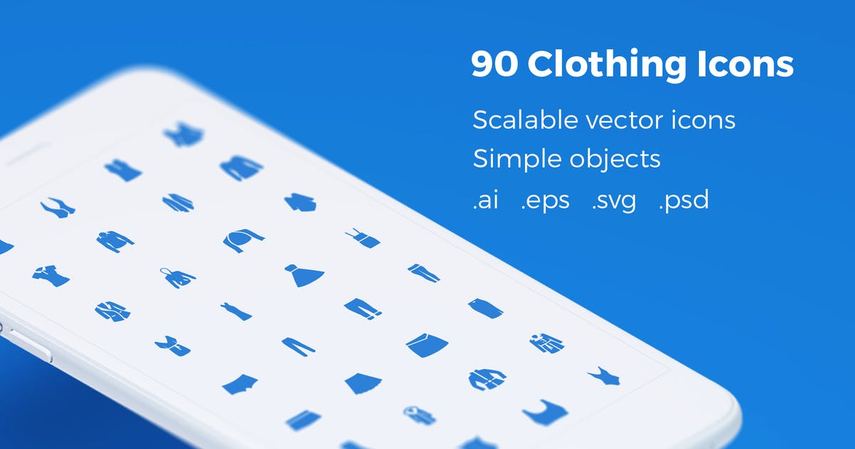 Download Wear Icons - Clothing Vector Pack by bestwebsoft