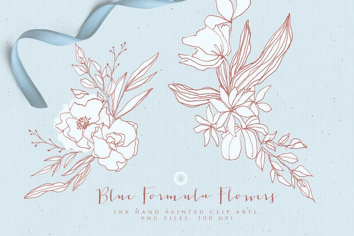 Thumbnail for Blue Formula Flowers