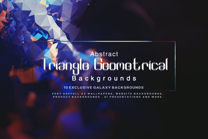 Thumbnail for Abstract Triangle Geometrical Background V2