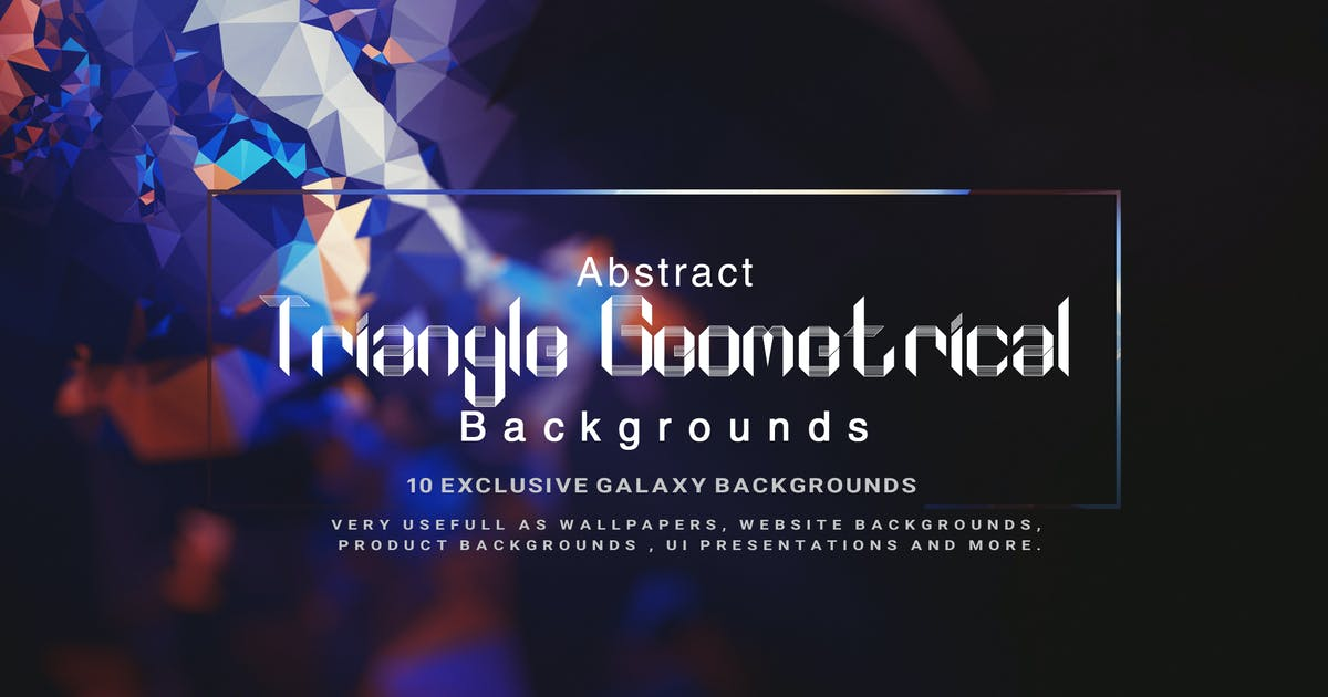 Download Abstract Triangle Geometrical Background V2 by Wutip