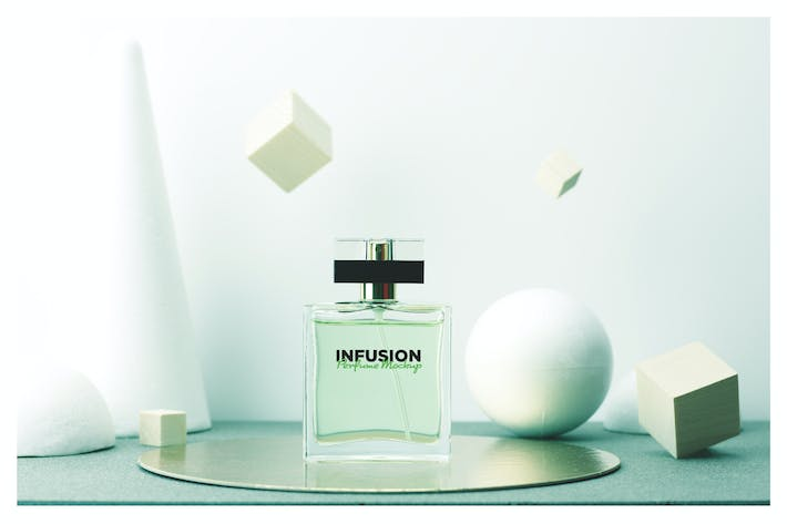 Cover Image For Perfume Mockup