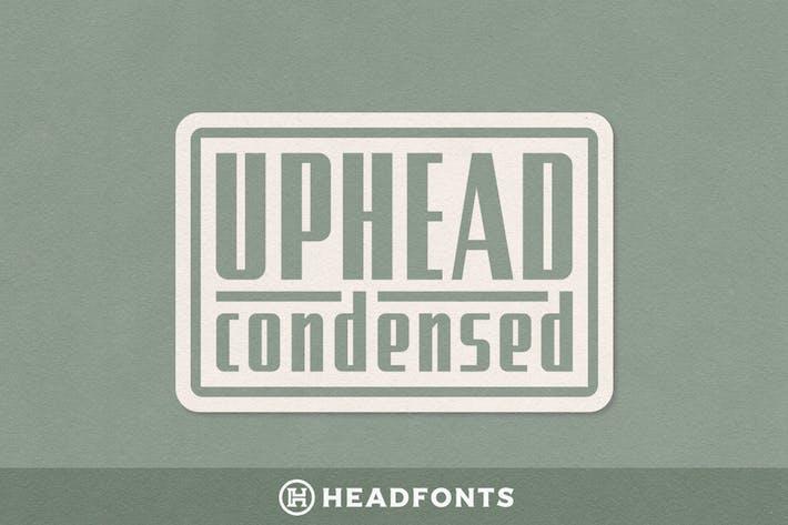 Thumbnail for Fuente tipográfica condensada Uphead