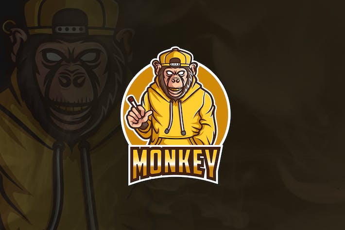 Thumbnail for Monkey Boys - Mascot & Esport Logo