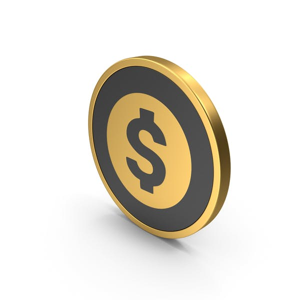 Деньги Золотая иконка