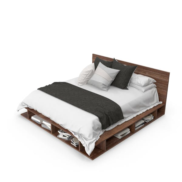 Thumbnail for Platform Bed
