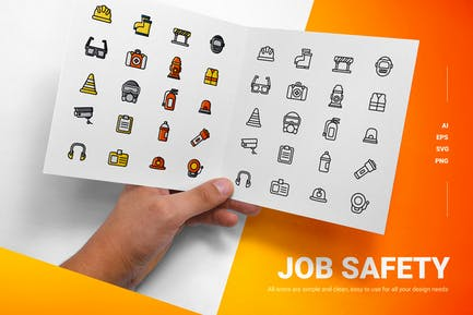 Job Safety - Icons
