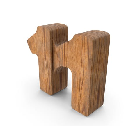 11 Wooden Number