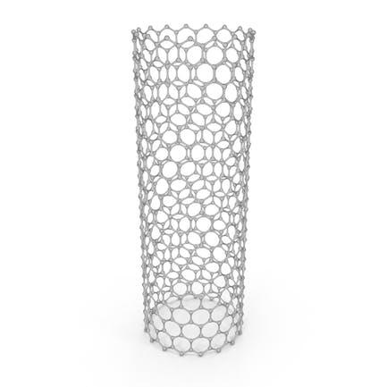 Graphene Nanotube Cartoon