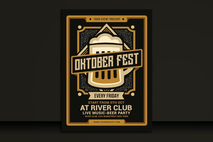 Thumbnail for Oktoberfest Flyer