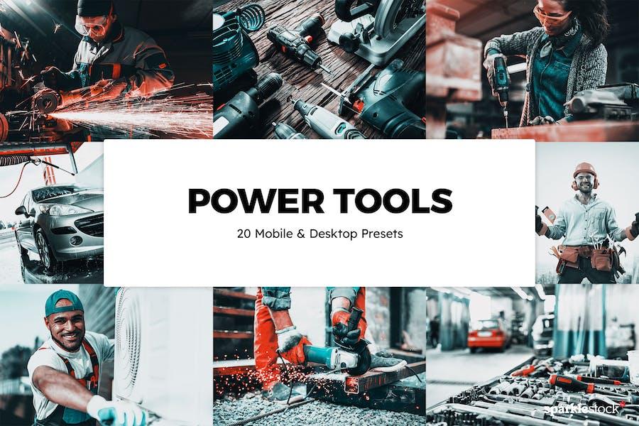 20 Power Tools Lightroom Presets & LUTs