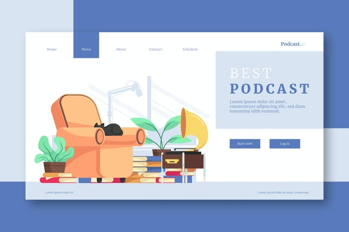 Thumbnail for Best Podcats - Landing Page
