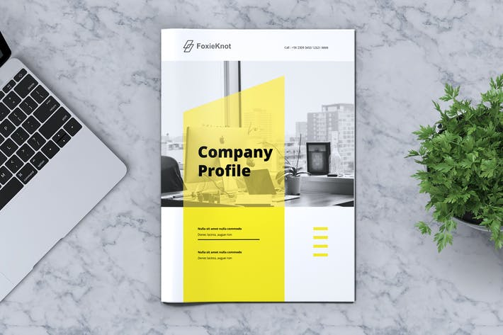 Thumbnail for FOXIEKNOT - Company Profile Brochure