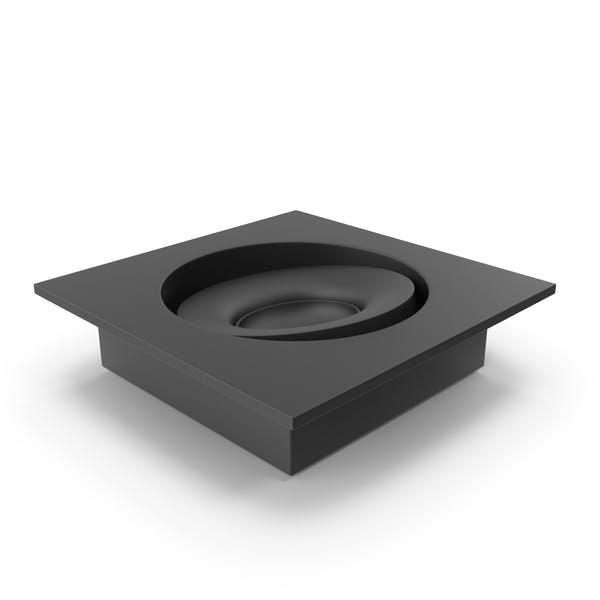 Thumbnail for Foco integrado negro