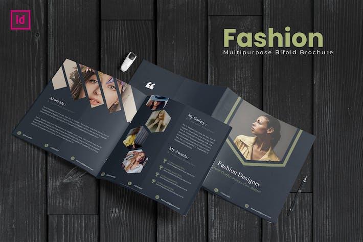 Thumbnail for Bifold Fashion Square Template