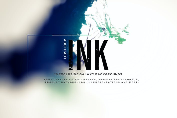 Thumbnail for Abstract Ink Backgrounds V2