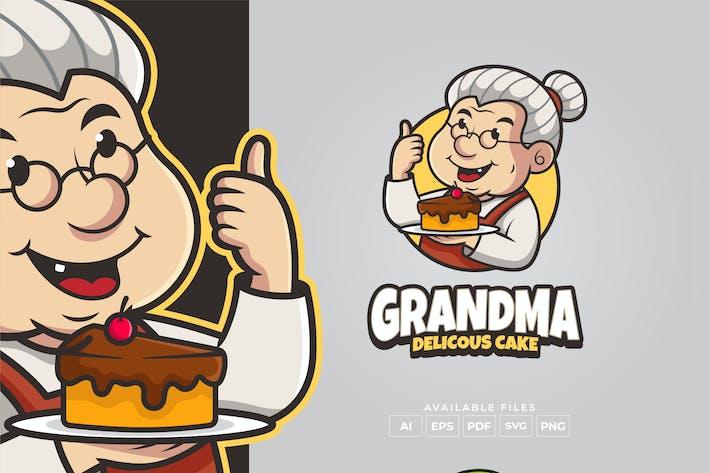 Thumbnail for Grandma Cake Logo Design