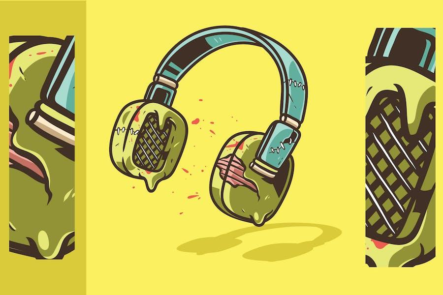 Zombie Headphone