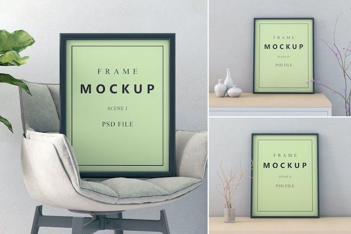 Thumbnail for Frame Scene - Mockup FH