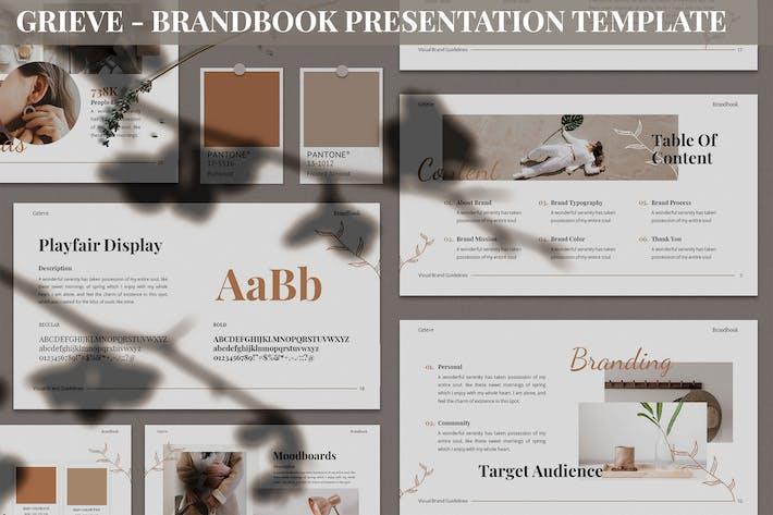 Thumbnail for Grieve - Brandbook Presentation Template
