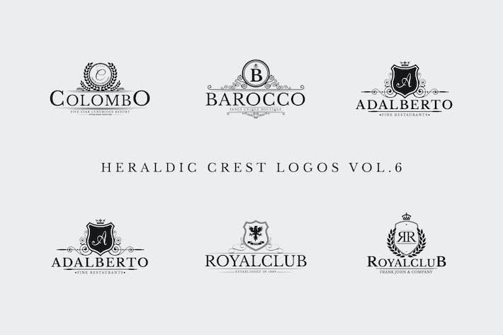 Thumbnail for Heraldic Crest Logos Vol.6