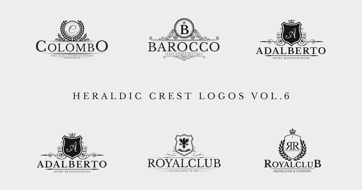 Download Heraldic Crest Logos Vol.6 by Zeppelin_Graphics