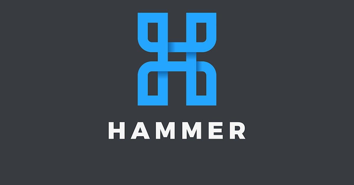 Download Letter H Logo design Linear style by Sentavio
