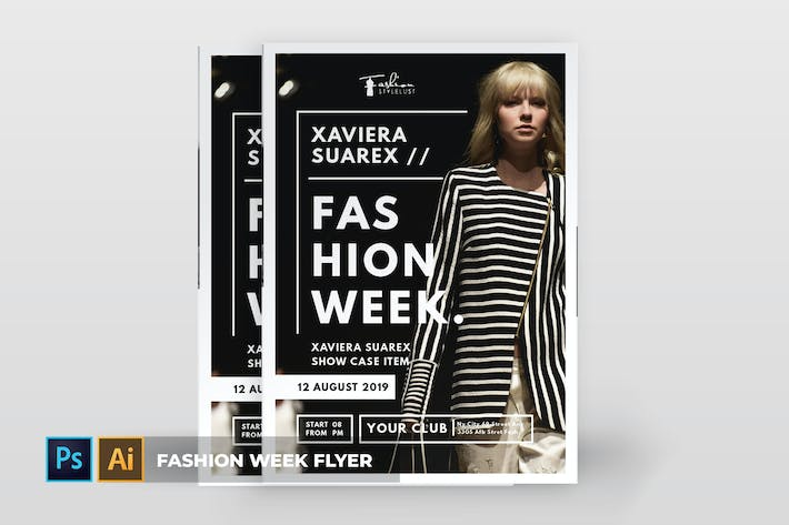 Thumbnail for Fashion Week | Flyer