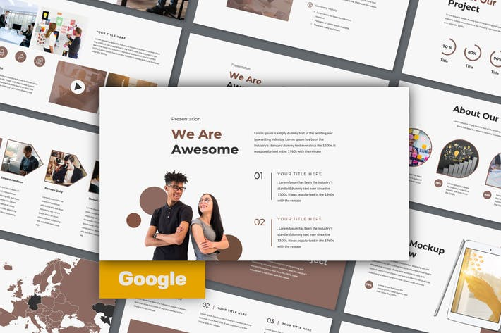 Thumbnail for Dots Google Slide Presentation Template