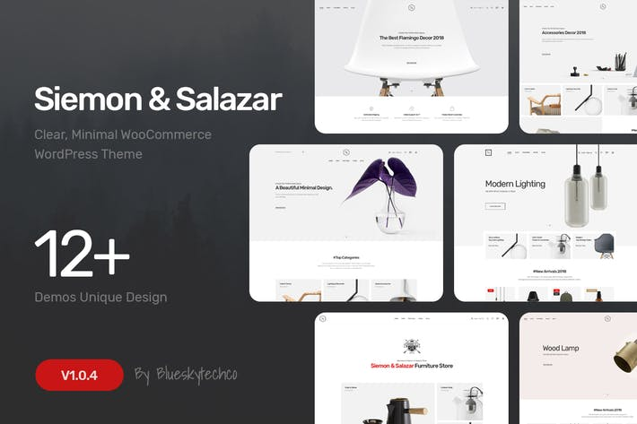 Siemon & Salazar - Clean, Minimal WooCommerce Them