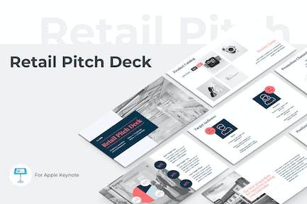 Retail Pitch Deck Keynote Template