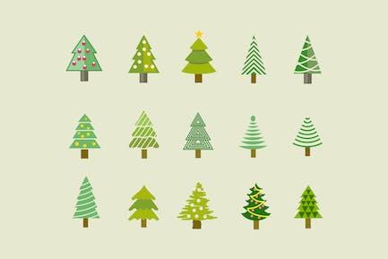 15 Íconos Árbol Navidad