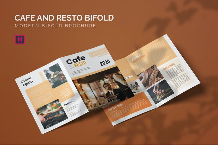 Thumbnail for Cafe and Resto - Bifold Brochure