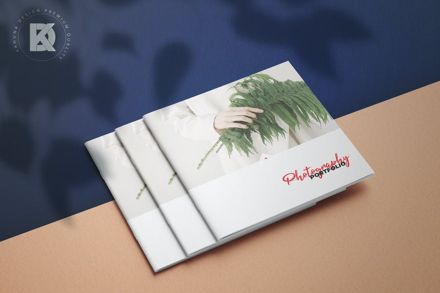 Photography Portfolio Square Brochure