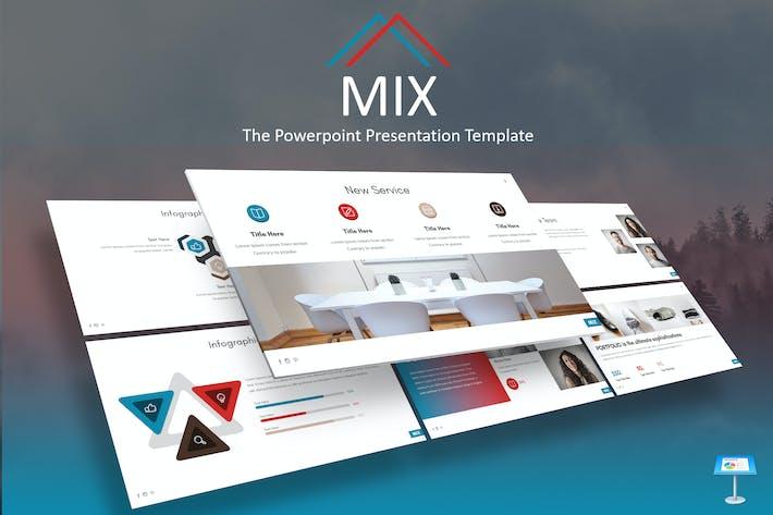 Mix - Шаблон Keynote