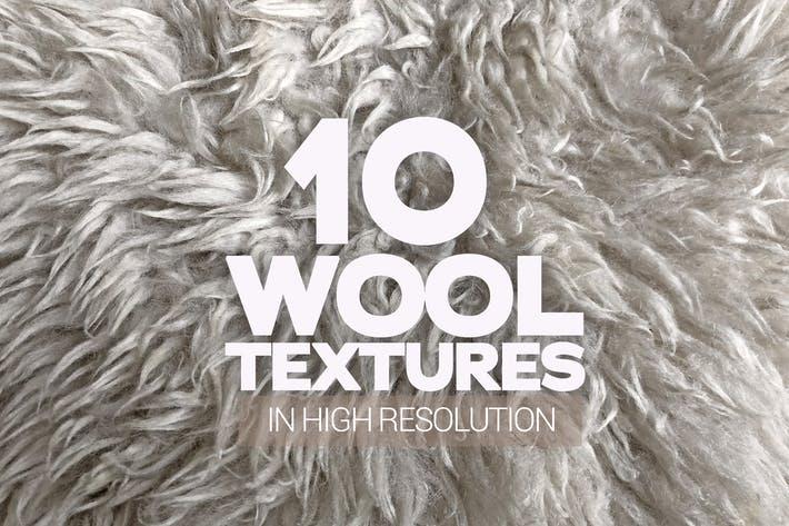 Thumbnail for Wool Textures x10