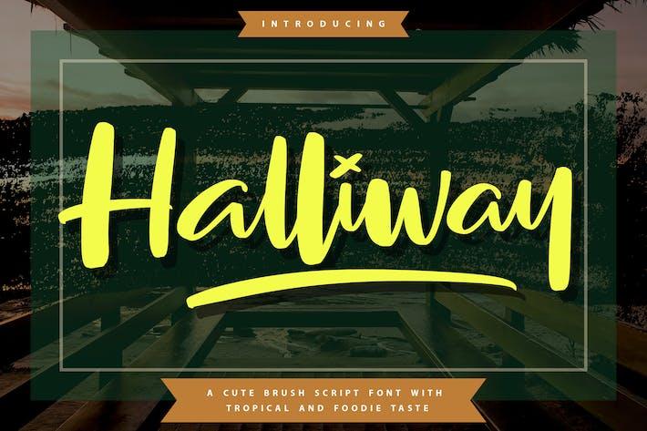 Thumbnail for Halliway   Fuente de secuencia de comandos de pincel