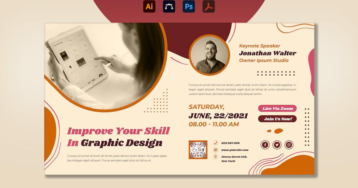 Download Graphic Designer Webinar Digital Poster by RahardiCreative