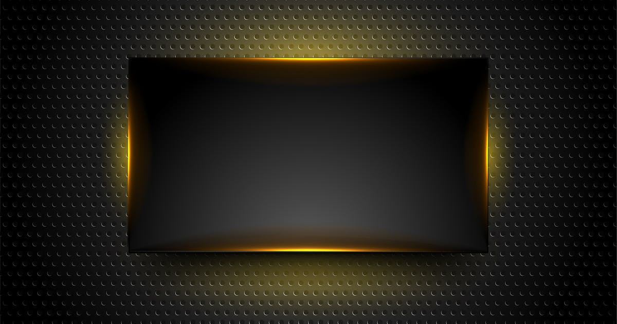 Download Black glowing frame on dark perforated background by saicle