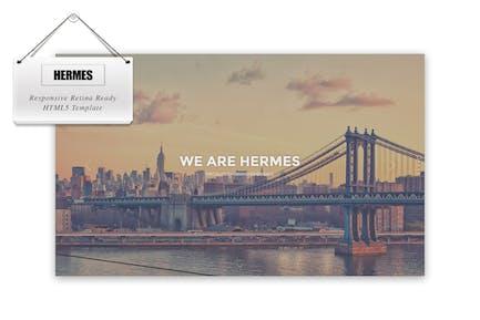 Hermes - Responsive Retina Ready HTML5 Template