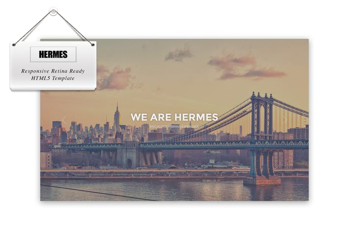 Thumbnail for Hermes - Responsive Retina Ready HTML5 Template