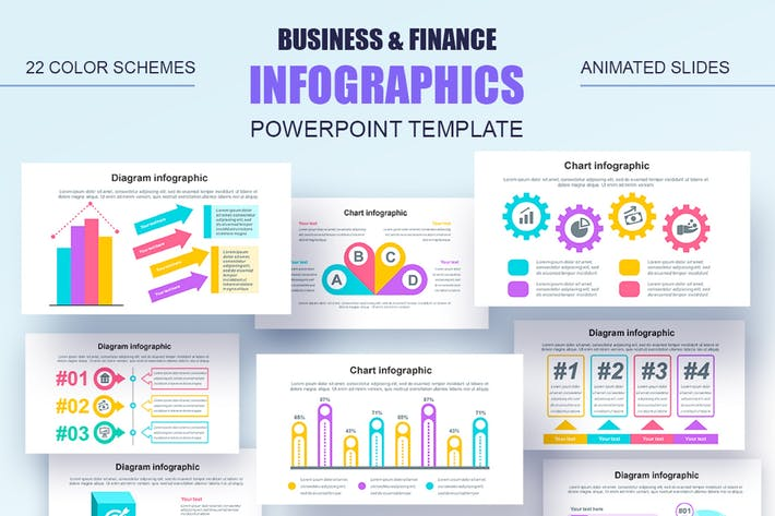 Infographics Powerpoint Animated Slides