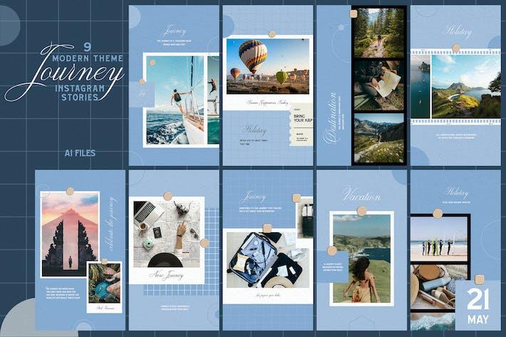 Thumbnail for Modern Theme - Journey Instagram Stories