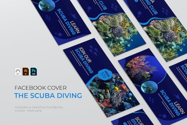 Scuba Diving   Facebook Cover