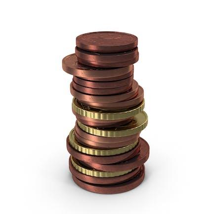 Monedas Mixtas de Euro