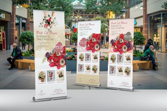 Thumbnail for Flower Shop Roll Up Banner