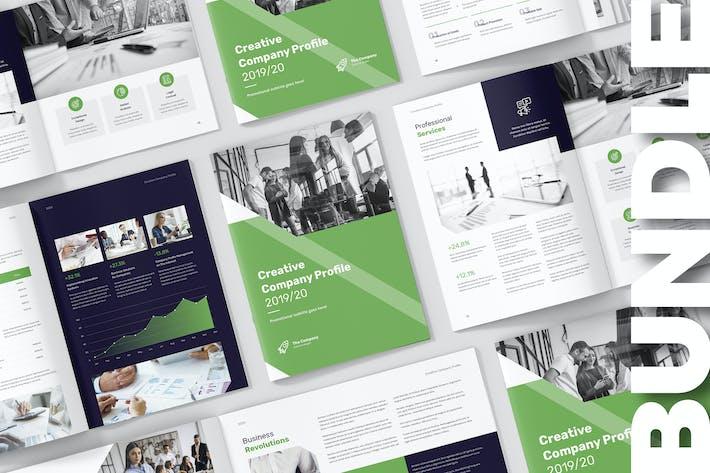 Creative Multipurpose Company Profile Bundle by artbart on Envato Elements
