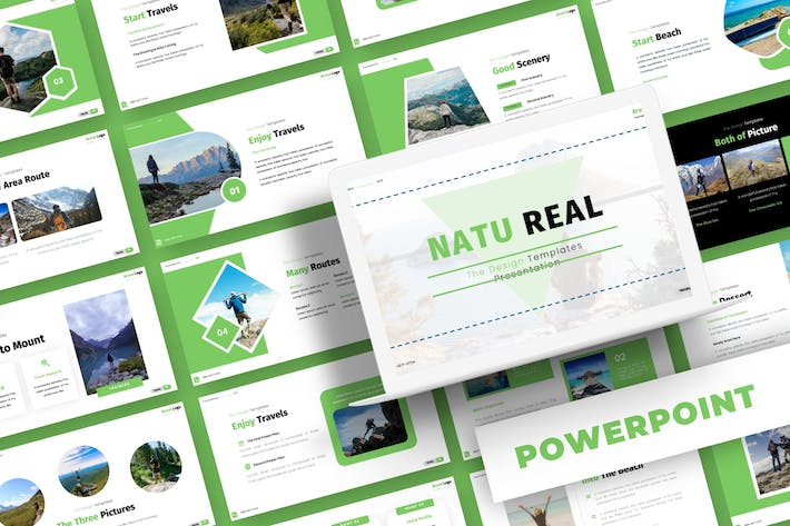Natu Real - Powerpoint Template